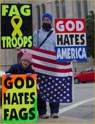 This Group Believes That God Hates America Because Of America's Tolerant Culture
