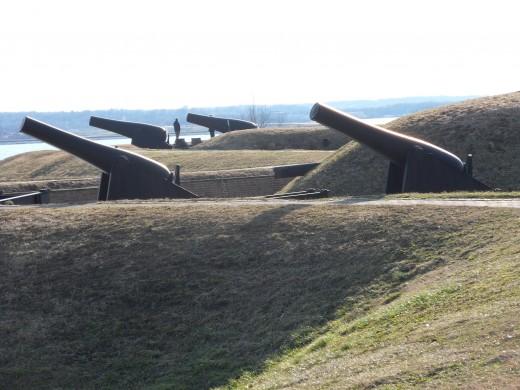 Fort McHenry Gun Batterys