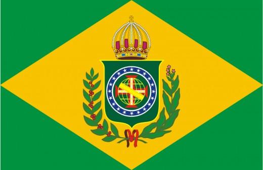Flag of Brazil Empire