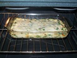 Bake the lasagna.