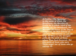 Beautiful Verses from Our Noble Qu'ran (1)