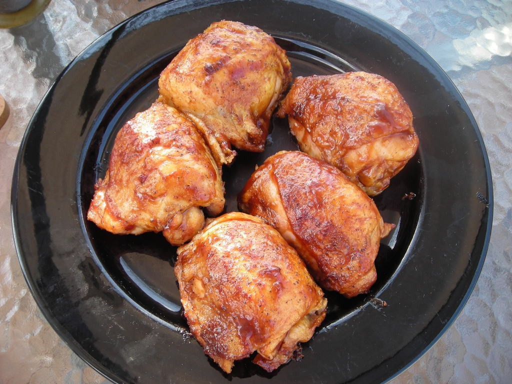 chicken on the grill grilled chicken thighs kansas city bbq style 10003
