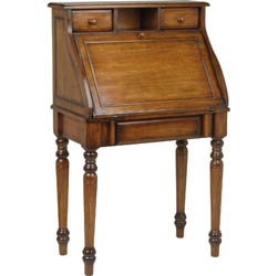 A nice example of a good drop lid writing desk - generally an older style.