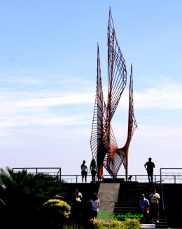 Eternal Flame sculpture