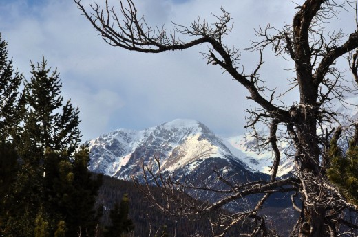 Rocky Mountain National Park, outside of Estes Park, Colorado, is one fine park to visit.