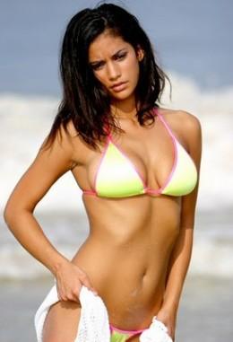 Sri Lankan Girl in a Bikini