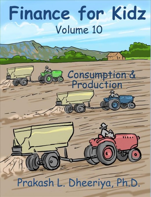Finance For Kidz: Volume 10: Consumption & Production