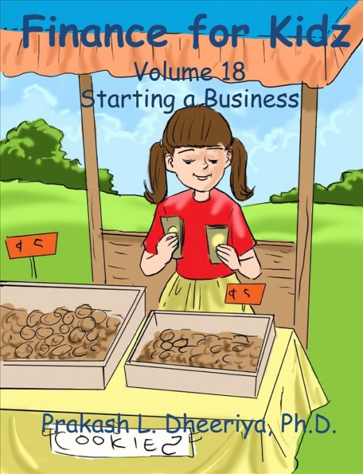 Finance For Kidz: Volume 18: Starting a Business