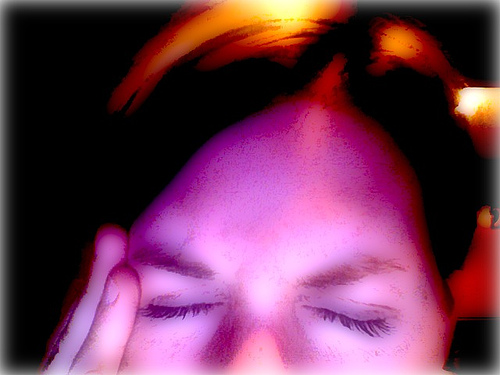Migraine Headaches Can Be Severely Painful.  Photo Courtesy of miss_rogue  under Creative Commons Attribution License