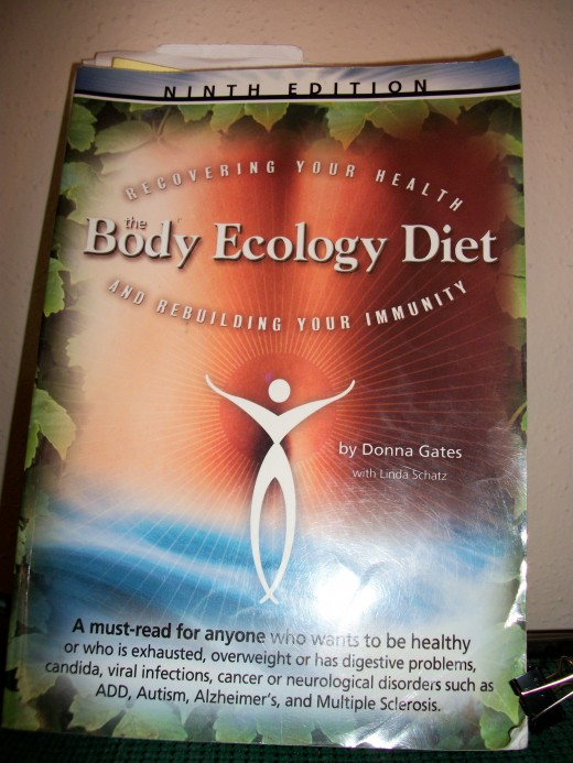 My well loved copy of The Body Ecology Diet.  Personal photo.