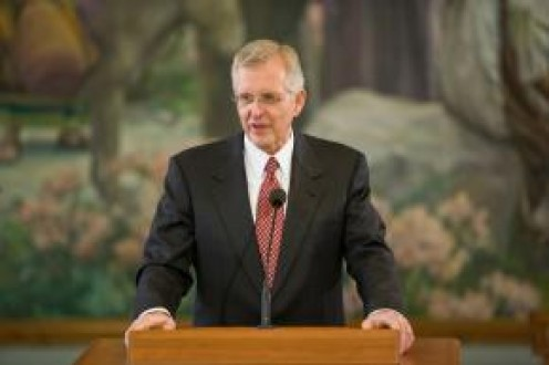 D. Todd Christofferson - Newly called and sustained member of The Quorum of the Twelve Apostles.