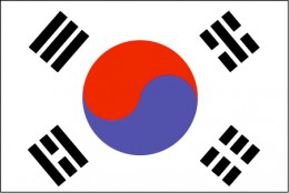 yin and yang of the South Korean flag