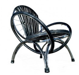 A Chair Made From Bike Parts - Wikid!