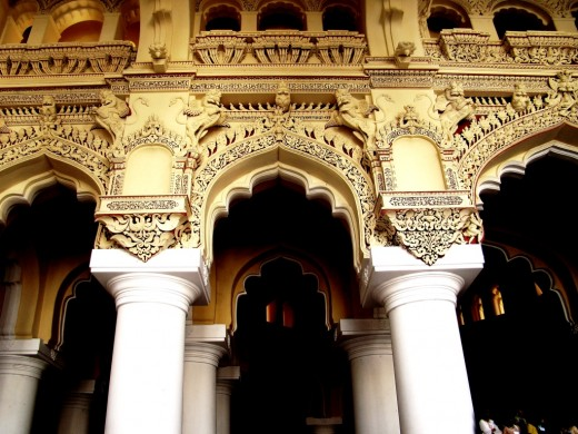 Arches & pillars