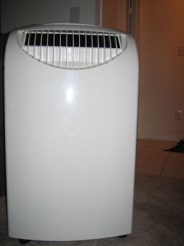 A more self contained portable air conditioning unit - better with smaller apartments or spaces.
