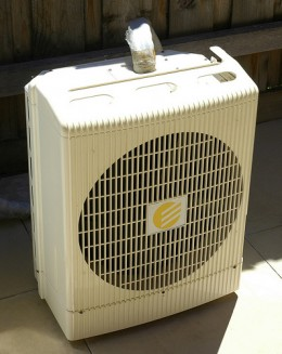 Another example of a portable AC unit.