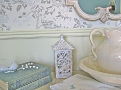 Blue and White Rooms and Decorating with Blue and White