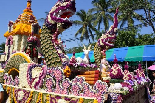 Chiang Mai Flower Festival 2010