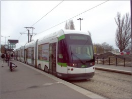 One of Nantes trams