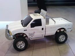 RC truck.