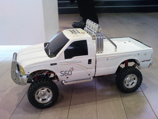 RC truck.