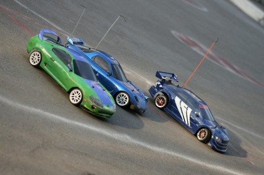 RC Cars.