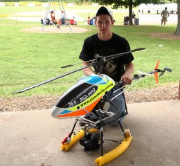 RC Helicopter.