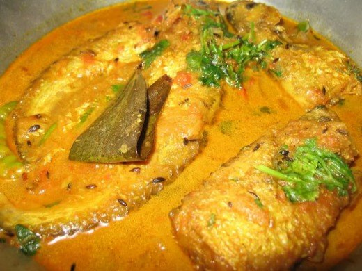 The Bengali Dish - Pabda Fish Curry