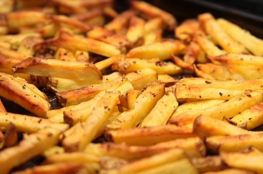French fries   Photo by Gudlyf