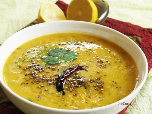 Cooked Masoor Dal