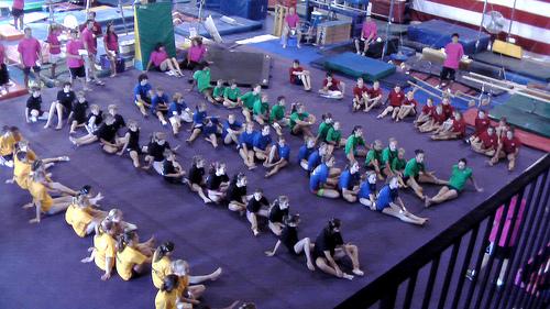 A Gymnastics Camp