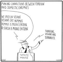courtesy of http://www.greenisthenewred.com/blog/wp-content/Images/peyser_vegan_hummus_terrorist_cartoon.jpg