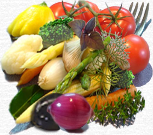 Vegetable for Vegan healthy diet http://thegreenmomreview.com/wp/wp-content/uploads/2009/06/vegetables.jpg