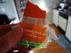 Mango Sunrise Fruit Strips.