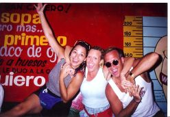 Let the fun never end! One of many excursions to Mexico. Wife in middle, with good friend of familiy to the far left