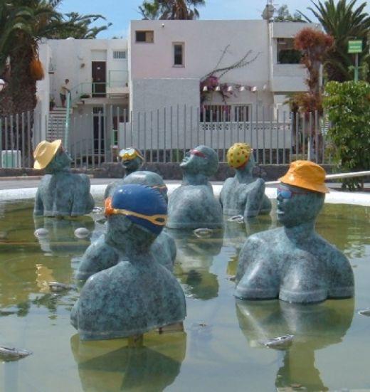Costa del Silencio fountain Photo by Steve Andrews