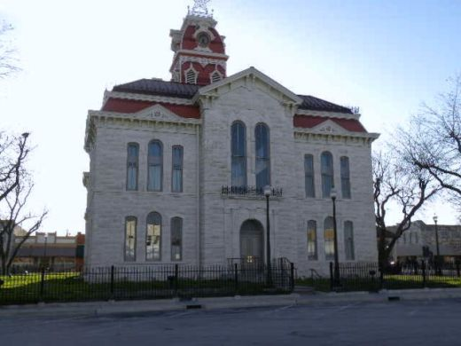 Lampasas TX Historic Courthouse