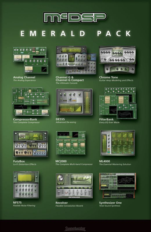 McDSP RTAS Plug-Ins for Pro Tools 8