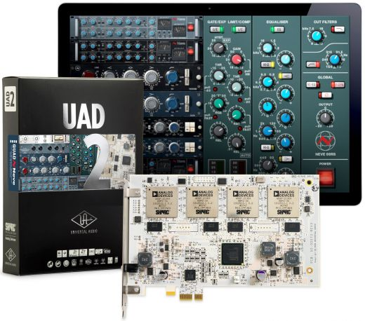 Universal Audio UAD-2 Quad Neve RTAS Plug Ins for Pro Tools 8