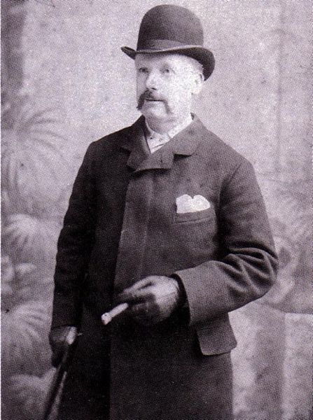 George Lusk, President of the Whitechapel Vigilance Committee.