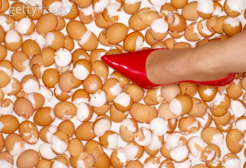 I have been walking on egg shells for years, now it is worse than ever!