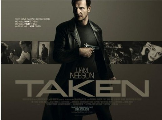 Taken - Starring Liam Neeson.    A movie review of this action thriller.
