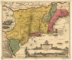 Map ~ Nicolaes Visscher II ~ 1656