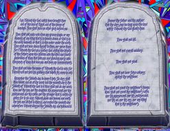 The Ten Commandments; the Ethos of God, or the Edict of Man?