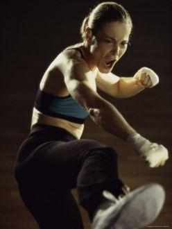Fun with Cardio Kickboxing