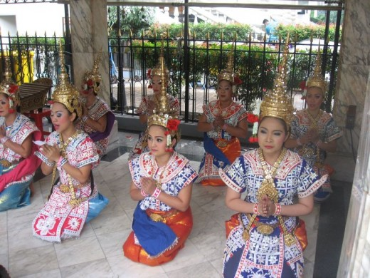 Graceful Thai Dancers