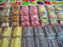 Colourful Thai desserts