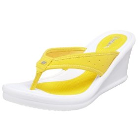 Great Wedge Thong Sandals From Skechers