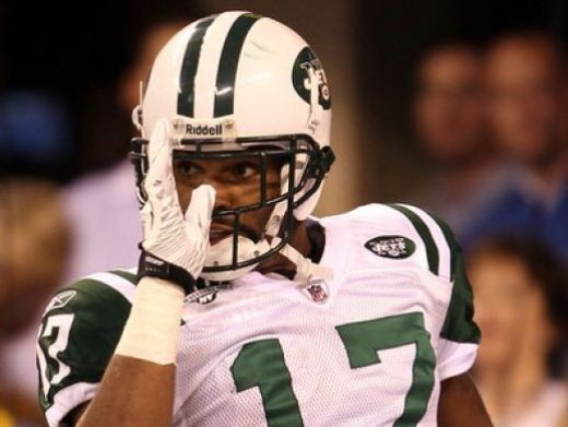 New York Jets wide receiver Braylon Edwards is one of the sexiest butts in NFL Football
