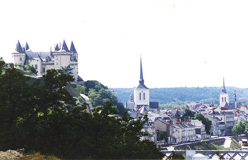 The Chateau overlooking Saumur